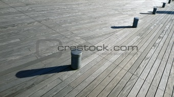 wooden deck diagonal background