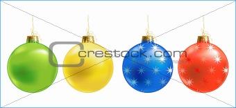 Christmas ball /  ornament / vector