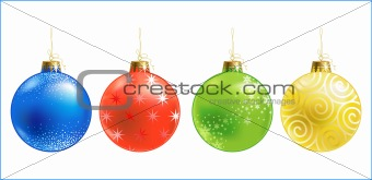 Christmas ball /  ornament / vector