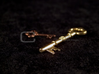 Two Keys on Black Velvet