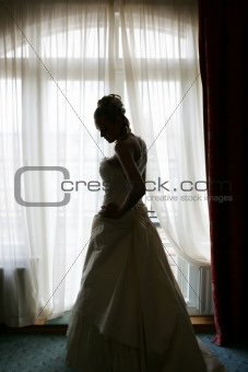 Bride in Silhouette