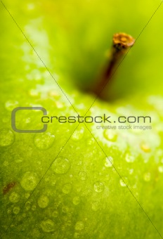 apple in green