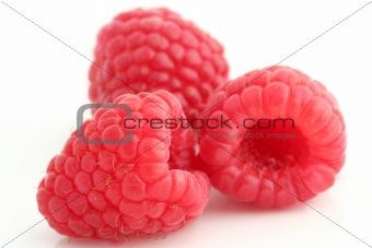 Three raspberries