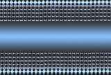 Silver Blue Mesh