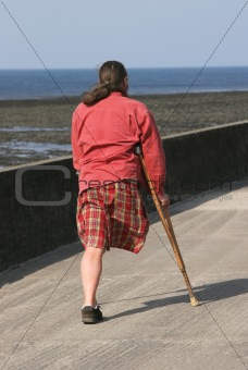 One Legged Man