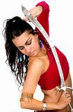 beautiful arabic dancer