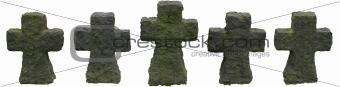 Five Stone Crosses