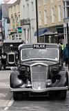 Vintage British Police Car
