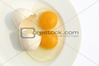 Twin Egg Yolks