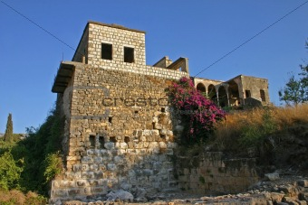 Ancient fortress near the Banias River – Israel