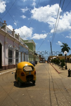 Old city in Cuba