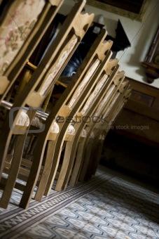 Old massive chairs