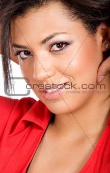 fashion woman face portrait