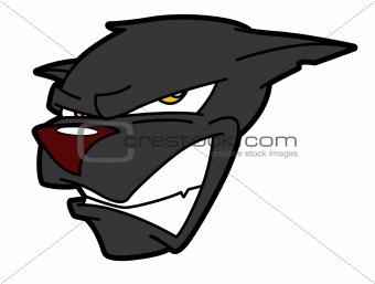 Angry Cat Mascot