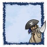 Blue Pirate Frame