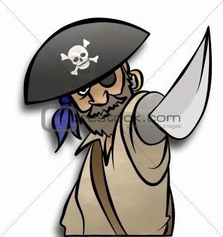 Threatening Pirate