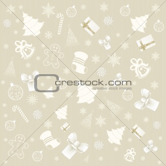 background with christmas elements