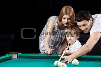 Family idyll