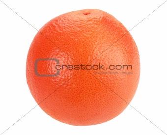 One full orange grapefruit