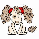 Tan Poodle