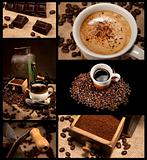 Coffee decoration collection