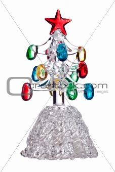 Crystal Christmas tree toy