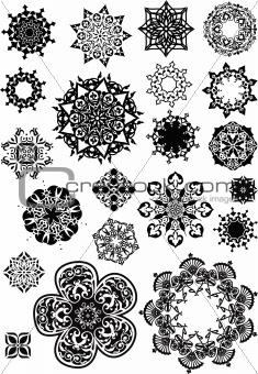 circular spiral object