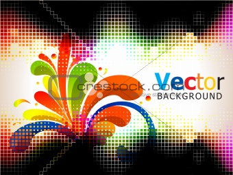 abstract colorful background element