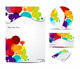 abstract corporate identity