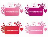 st. valentine's day frames