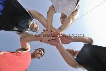 basketball players team