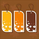 Autumn tags