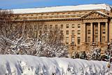Justice Department After the Snow Constitution Avenue Washington