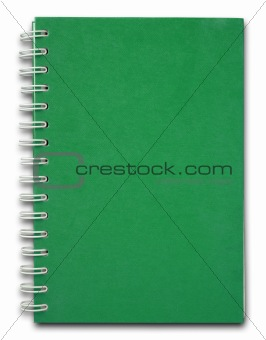 Green cover Notebook