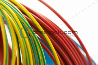 electricity copper cables