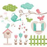 Retro spring elements