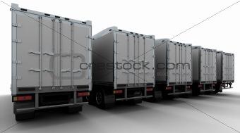 American sem -truck