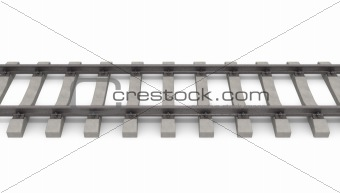3d rails horizontal
