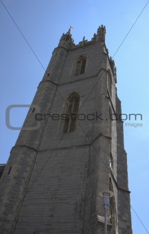 Church Bell Tower Wales UK