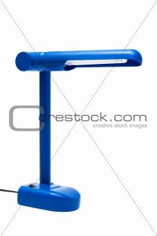 blue modern lamp