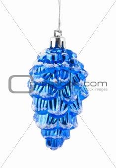 Christmas blue cone