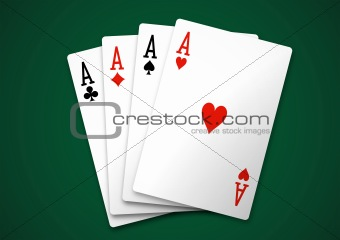 Square of aces