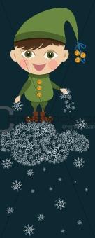 Christmas boy elf