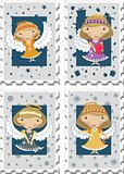 Stamps with Angels