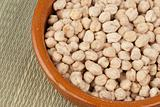 White chickpeas