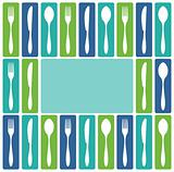 Cutlery frame