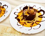 hot chocolate dessert