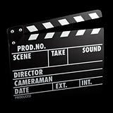 vintage film slate