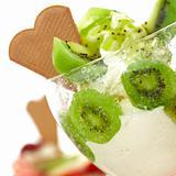 organic kiwi ice cream