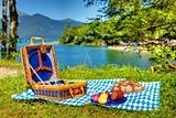 bavarian outdoor picnic